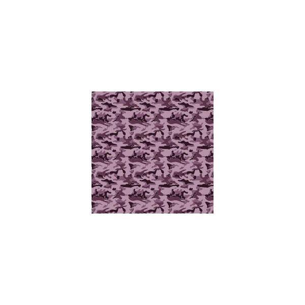 coussin g ant camouflage violet ev que deco tissus. Black Bedroom Furniture Sets. Home Design Ideas