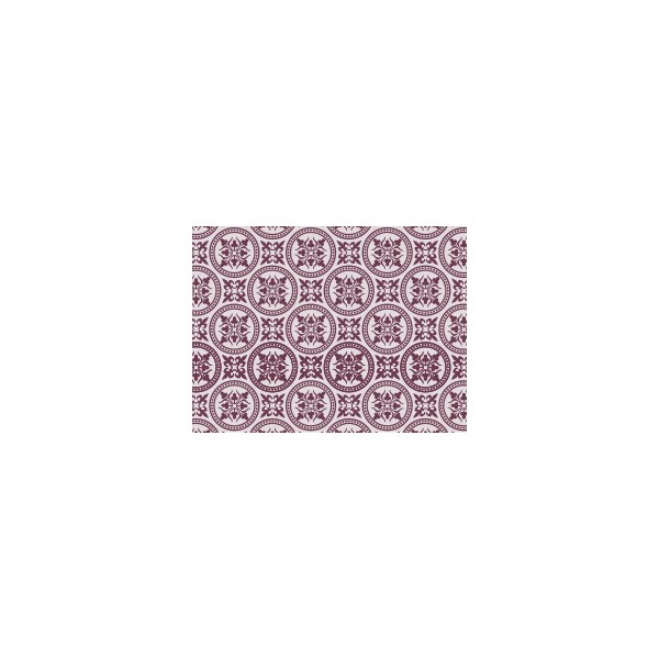 Set de table motif faience violet figue deco tissus for Set de table violet