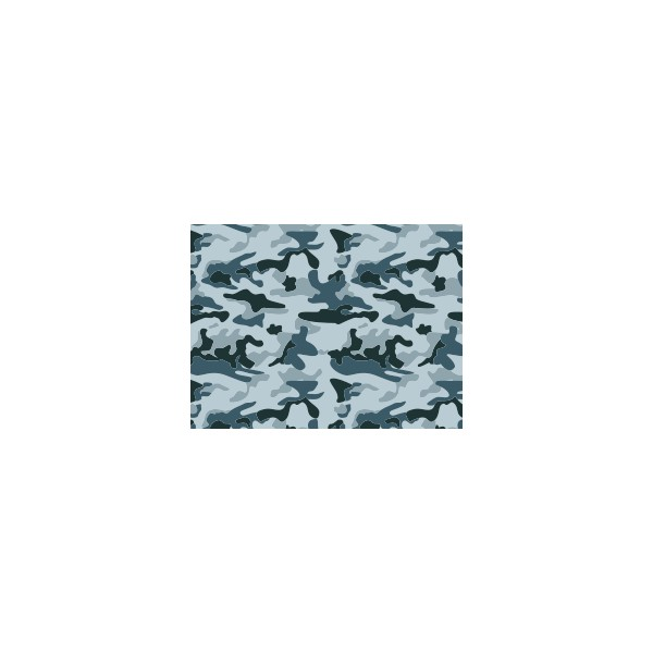 set de table motif camouflage gris orage deco tissus. Black Bedroom Furniture Sets. Home Design Ideas