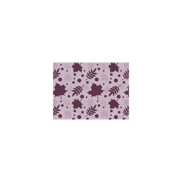 Set de table motif automne violet ev que deco tissus for Set de table violet