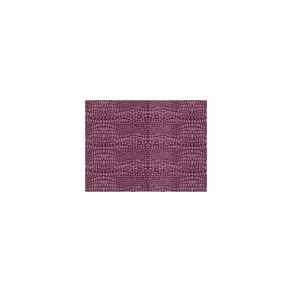 Set de table motif croco violet figue deco tissus for Set de table violet
