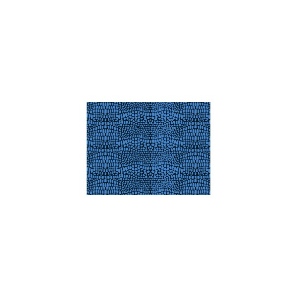 Set de table motif croco bleu ouessant deco tissus for Set de table bleu