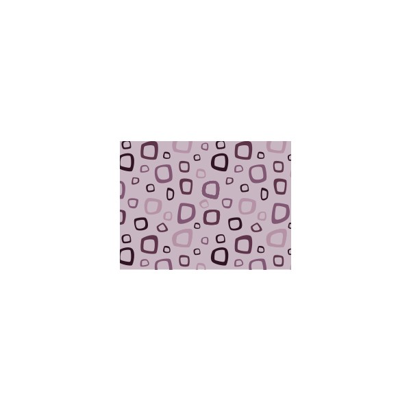 Set de table motif cuadro violet ev que deco tissus for Set de table violet