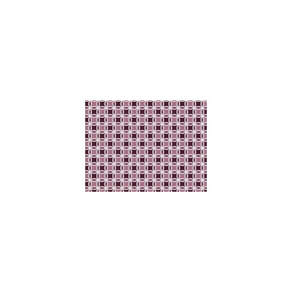 Set de table motif triolo violet figue deco tissus for Set de table violet