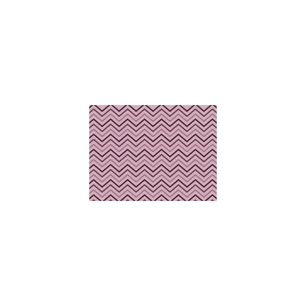Set de table motif chevrons violet figue deco tissus for Set de table violet