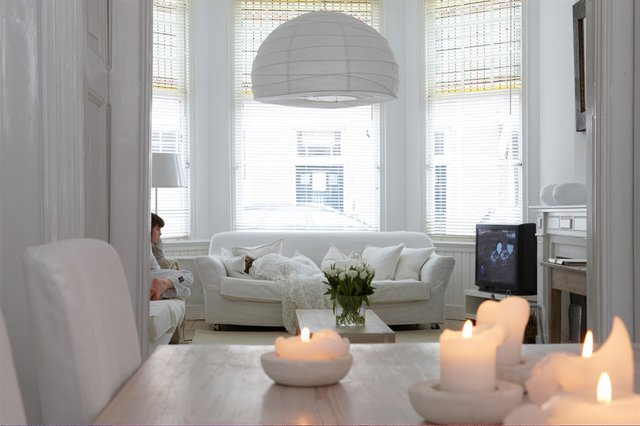 Quel style d co adopter avec du blanc d co tissus le blog for Decoration maison en blanc