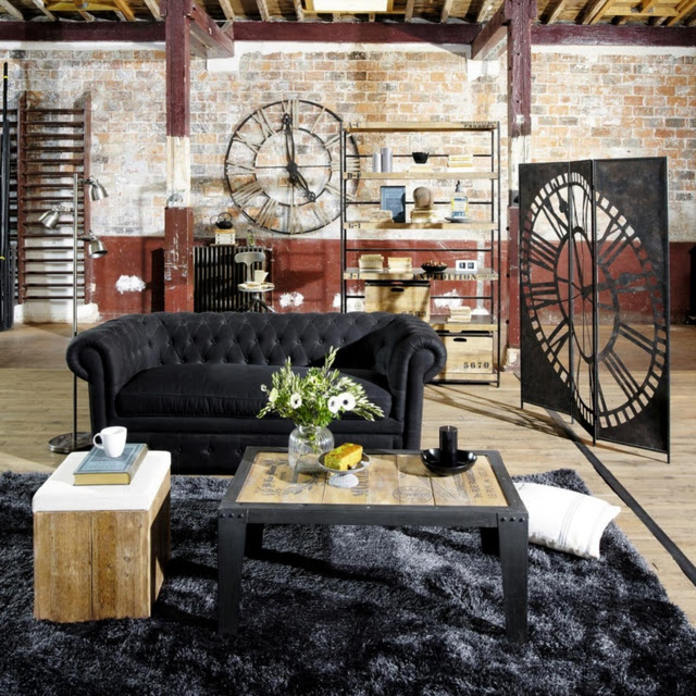 de la r cup 39 pour un style atelier d co tissus le blog. Black Bedroom Furniture Sets. Home Design Ideas