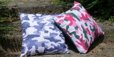 Camouflage coussin