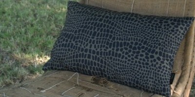 croco coussin