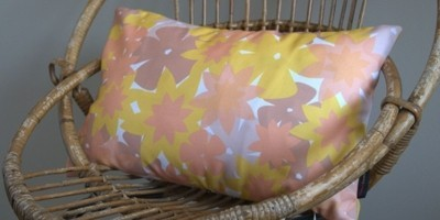 flowers coussin